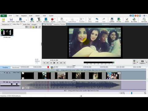 How to resize videos with videopad video editing software ...