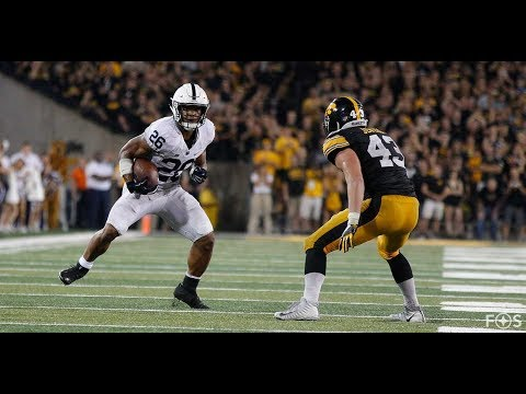 Ridiculously Slow View Of Saquon Barkley's Ridiculous Hesitation Move