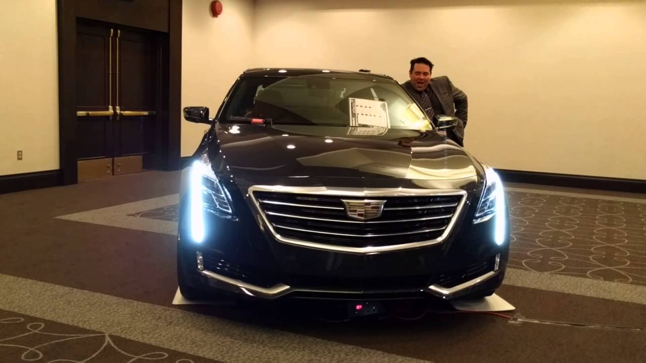 2016 Cadillac CT6 | About Night Vision (with some humour ...
