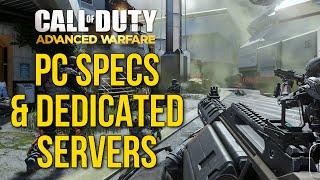 Advanced Warfare: PC Specs, FoV Slider, Sound Options, & Dedicated Servers