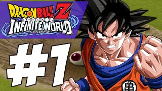 STOP KIDNAPPING MY SON!! | Dragon Ball Z: Infinite World (PART #1)