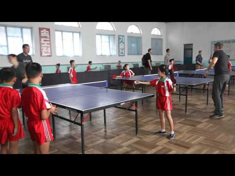 Getting My Butt Kicked in Ping Pong by a Bunch of North Korean Children