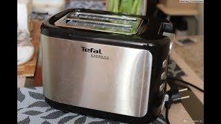 тостер TEFAL Express TT365031 распаковка, мини обзор