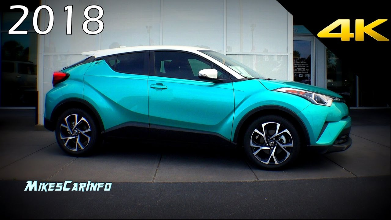 2018 Toyota CHR C-HR - Quick Look at the R-Code Paint ...