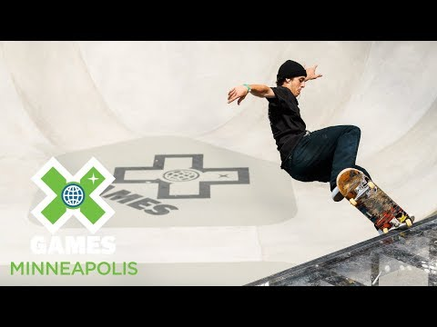 Men's Skateboard Park: FULL BROADCAST   X Games Minneapolis 2018
