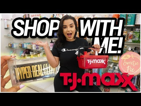 SHOP WITH ME AT TJMAXX 2019: HUGE DISCOUNTS ON HIGH-END + DRUGSTORE MAKEUP! | MakeupByAmarie