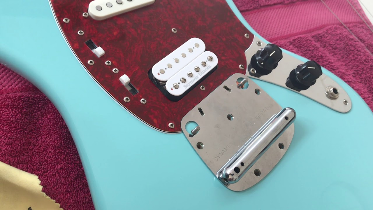 Wiring A Fender Mustang Shortscale