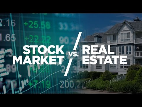 Stock Market vs Real Estate - Cardone Zone