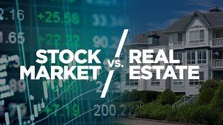 Stock Market vs Real Estate - Cardone Zone