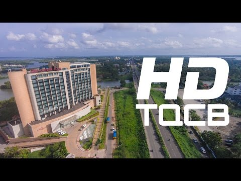 Kochi (Cochin) - 2014 | Kerala | India | Stock Footage | Helicam India | 4K