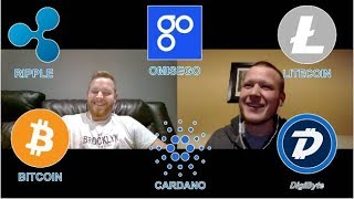 Staking Coins! Cardano, Omisego! Our Investment Strategy! #Podcast 13