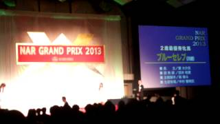 NARグランプリ2013 2歳最優秀牝馬 ブルーセレブ