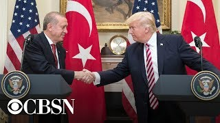 President Trump holds joint press conference with the president of Turkey, live stream