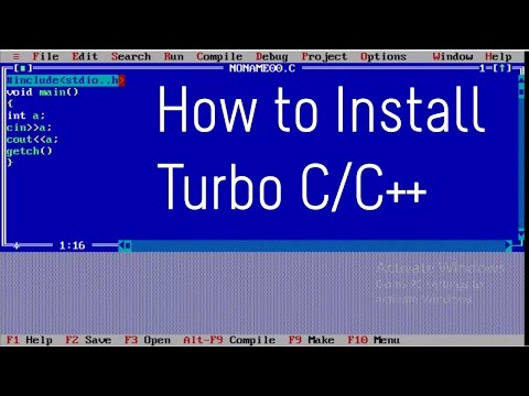 How to Install Turbo C/C++ in Windows 7/8/10