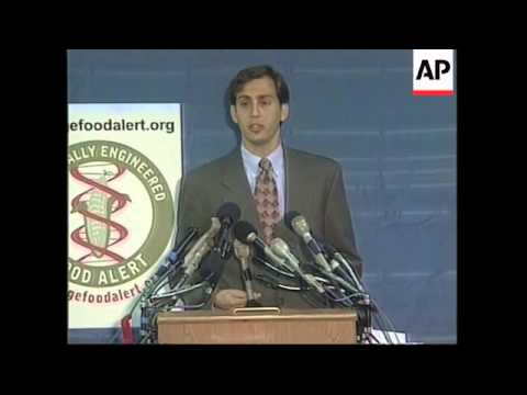USA: WASHINGTON: GM CORN PRESS CONFERENCE