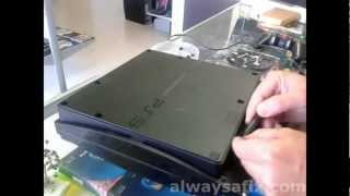 PS3 Slim not reading disk Laser replacement