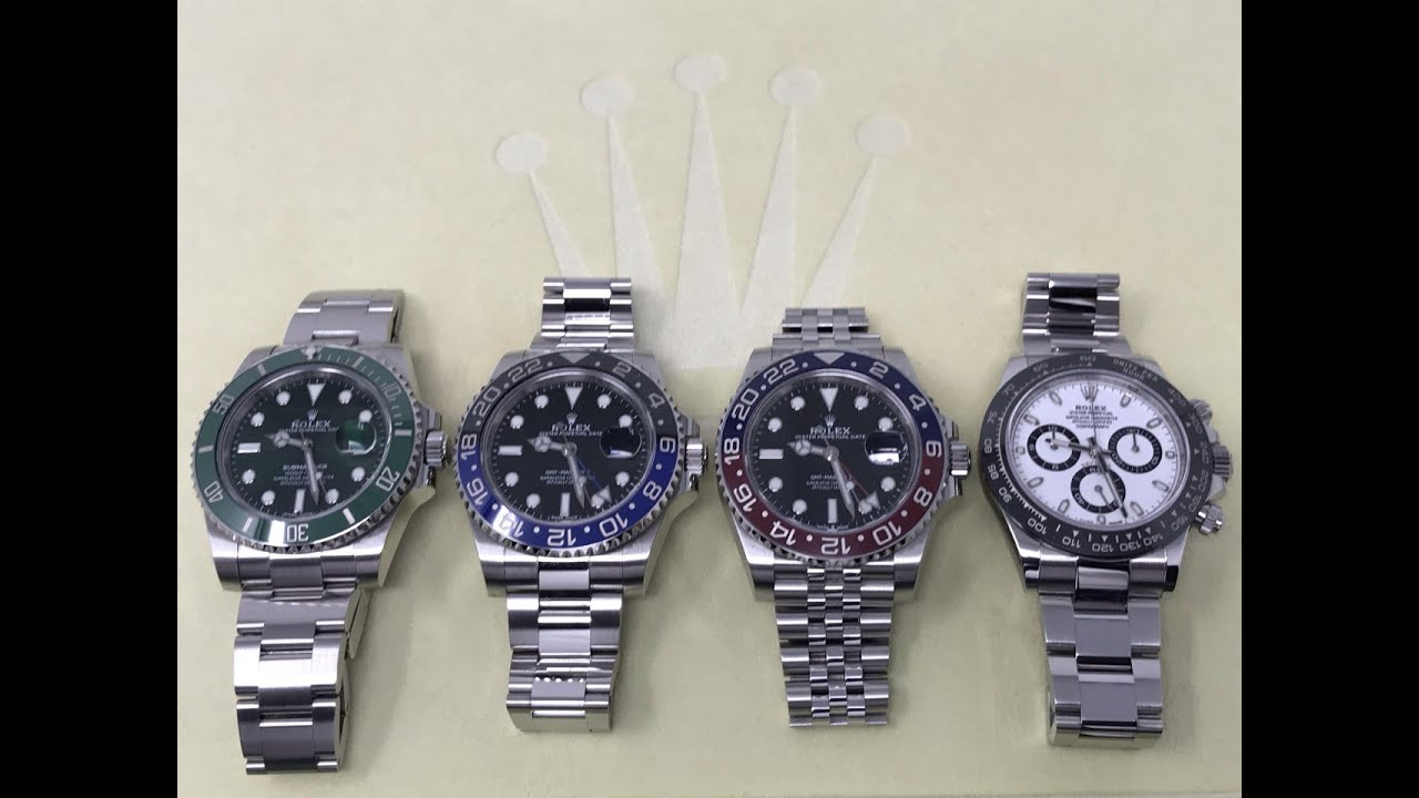 4 Hardest To Get Rolex Watches Compared Bear Clooney Watches