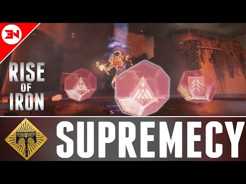 YEAR 3 GJALLARHORN IS OP! - Rise Of Iron Early Gameplay - Supremacy