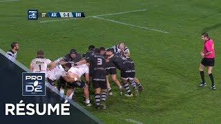 PRO D2 - Résumé Provence Rugby-Brive: 22-20 - J14 - Saison 2018/2019