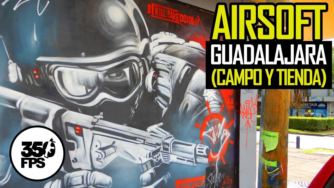 ¿Dondé puedo jugar Airsoft en Guadalajara?