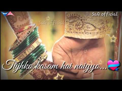 Tujhko Paa Liya Tera Intezaar Kar Ke|| Love Romantic Song || For Whatsapp Status Video