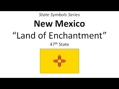 State Symbols Series New Mexico Youtube