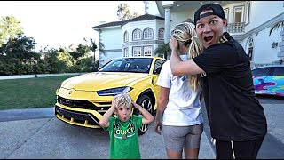 Download I SURPRISED my wife with a $300,000 CAR!! *She Cried* Mp3 and Videos