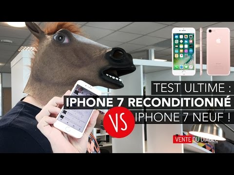 iphone 7 reconditionn vs iphone 7 neuf le test ultime youtube. Black Bedroom Furniture Sets. Home Design Ideas