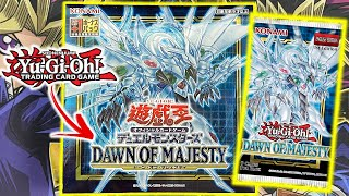 Yu-Gi-Oh! Dawn of Majesty Booster Box Opening OCG!