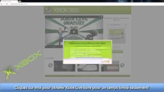 Xbox Live Gratuit - Un/Trois/Douze mois d'abonnement