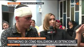 Pobladores de San Juanico denuncian abuso de autoridad   adn40