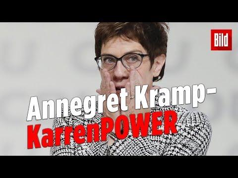 AKKs Sieg: So bedankte sich die neue CDU-Vorsitzende
