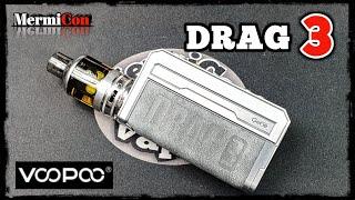 DRAG 3 Kit & TṖP Tank by Voopoo