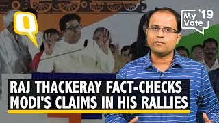 'Lava Re video': MNS Leader Raj Thackeray Fact-Checks PM Modi During His Rallies | The Quint