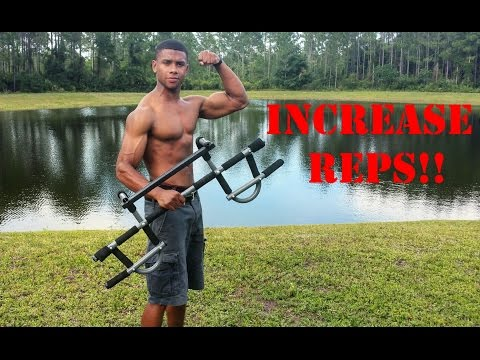 Door Pullup Bar Workout | How to Increase Pullup Reps and Strength | How to do more Pullups