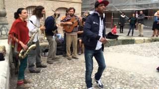 Granada street reggae jam