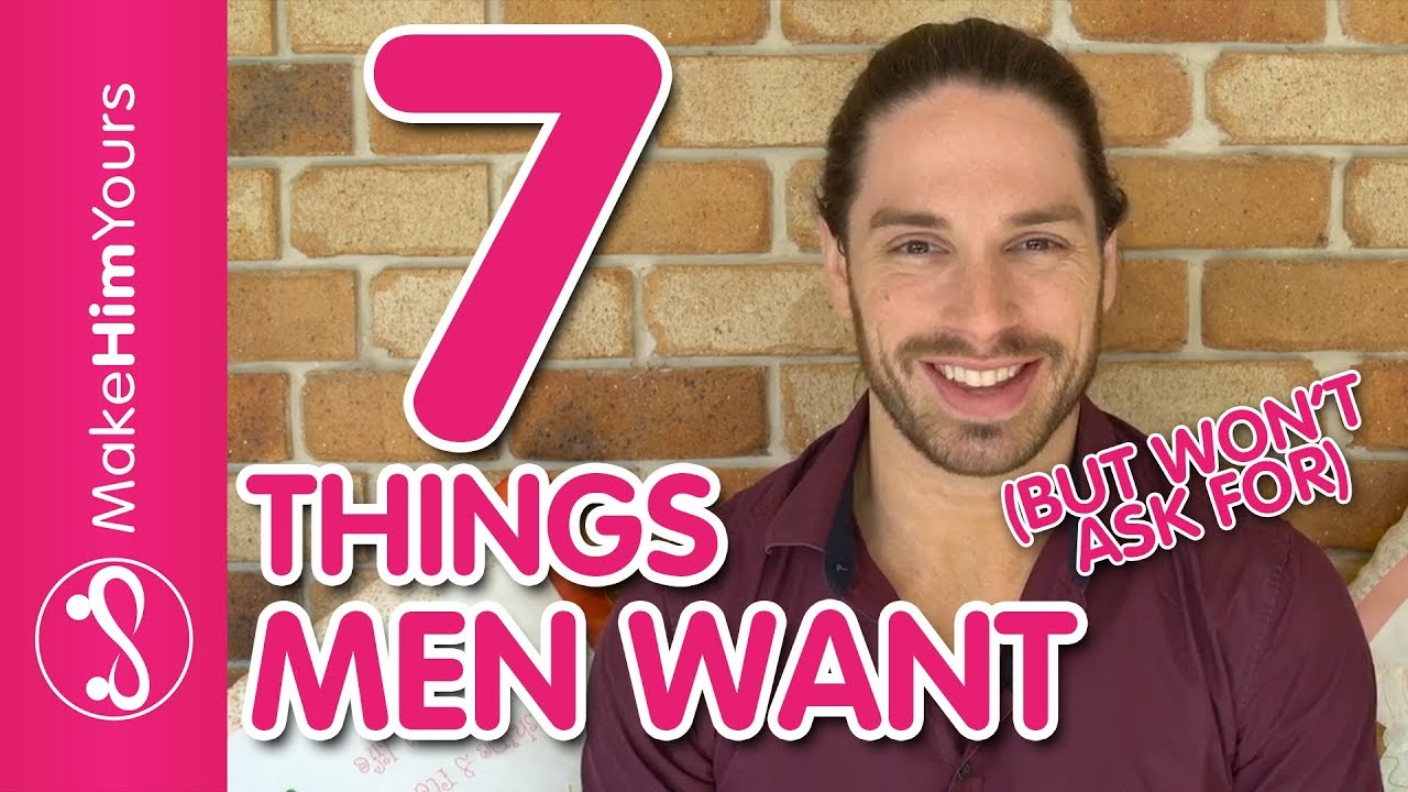 8 things that men feel, but feel free to admit