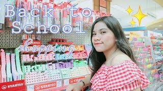 BACK TO SCHOOL SUPPLIES SHOPPING 2019!! | PHILIPPINES