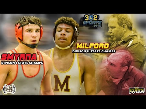 #1 Smyrna visits #4 Milford a Top 5 wrestling match LIVE from Milford High