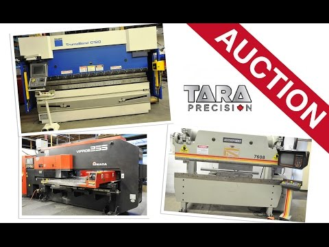 Tara Precision Engineering Auction September 10