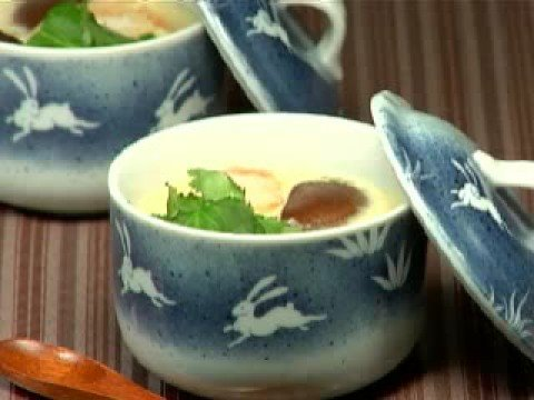 How to Make Chawanmushi (Steamed Egg Custard Recipe) 茶碗蒸し 作り方レシピ