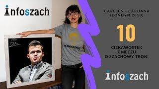 Gambar cover 10 Ciekawostek z Meczu o Mistrzostwo Świata w szachach (Carlsen - Caruana)