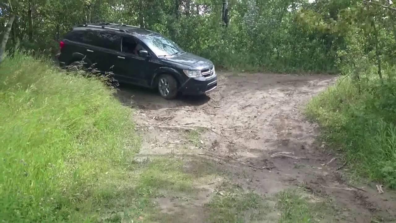 2016 Dodge Journey >> Dodge journey R/T offroad test - YouTube