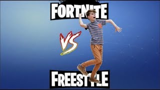 Fortnite vs Freestyle Dances!
