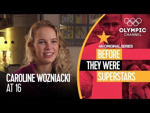 Teenage Caroline Wozniacki Wanted to Be World Number 1 | Before They Were Superstars