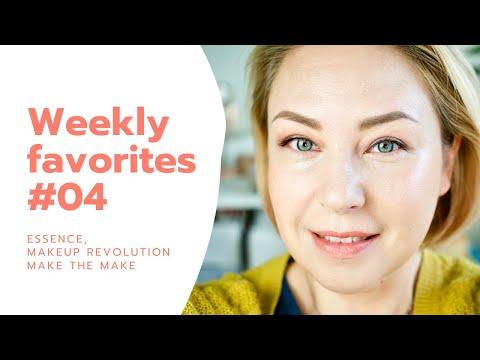 Weekly Favorites #04 | Essence, Makeup Revolution, Make The Make