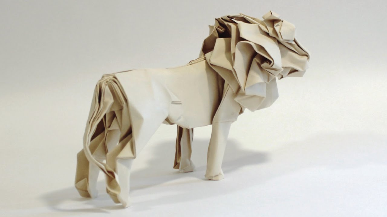 How To Make An Origami Lion Youtube Diagram Dinosaur Create Stunning Models On Your