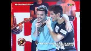 Marama Ft. Fer Vazquez de Rombai cantan ¨Una noche Contigo¨ - Sin codificar 2015