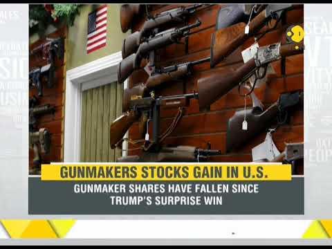 Gunmakers stocks gain in the US