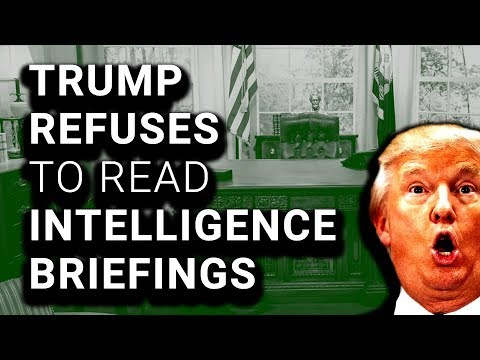 Dumbed-Down Security Briefings Still Too Hard for Trump to Read